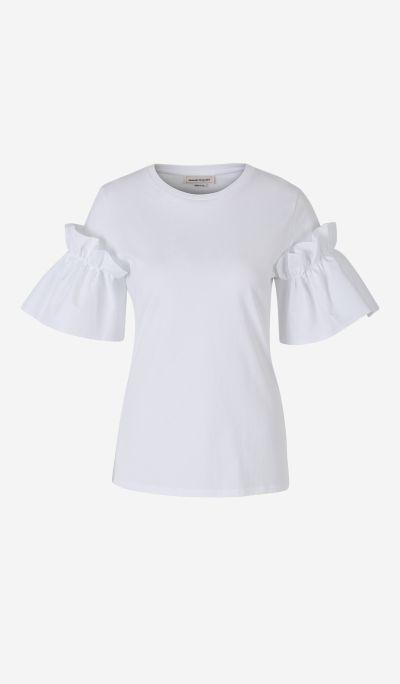 Camiseta Volantes Popelín