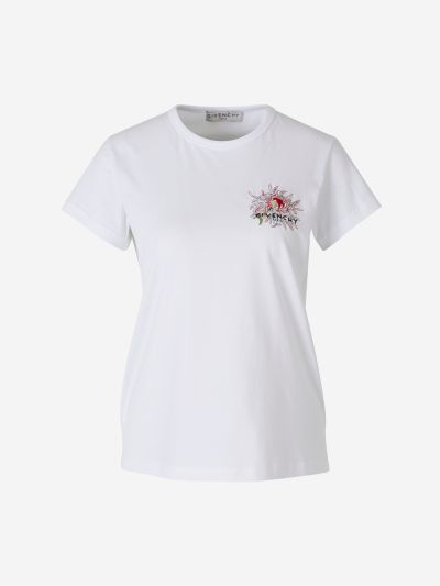 Embroidery & Rhinestones T-Shirt