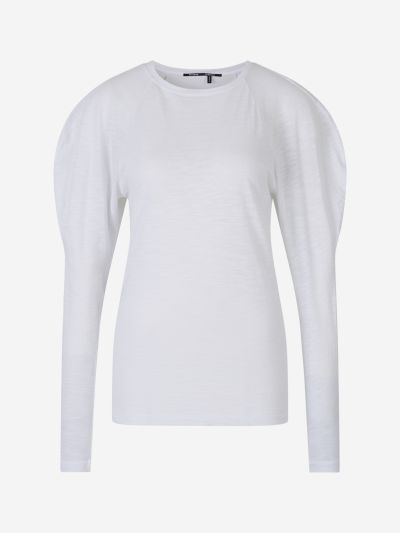 Puffed Sleeve T-Shirt