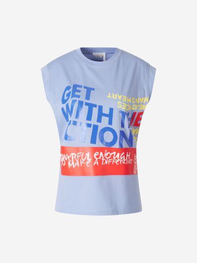Camiseta Estampado Artístico