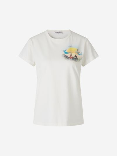 Camiseta Estampado Island