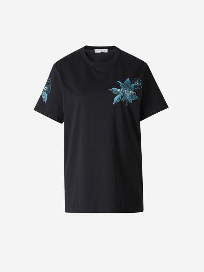 Camiseta Floral Schematics