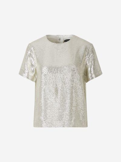 Micro Sequin T-shirt