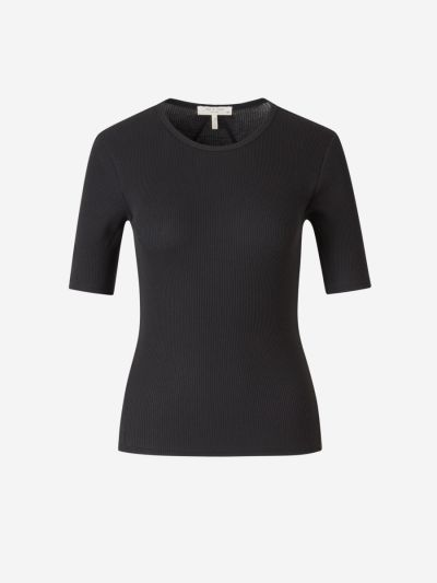Organic Cotton Ribbed T-shirt