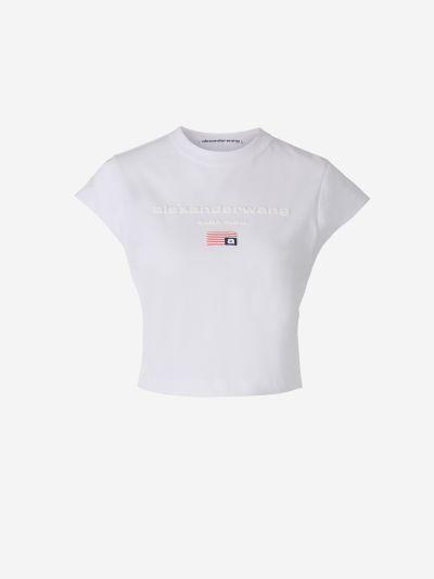 Camiseta Logo Cropped