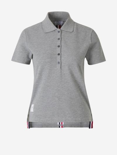 Contrasting Trims Polo