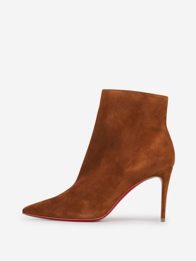 So Kate suede leather ankle boots