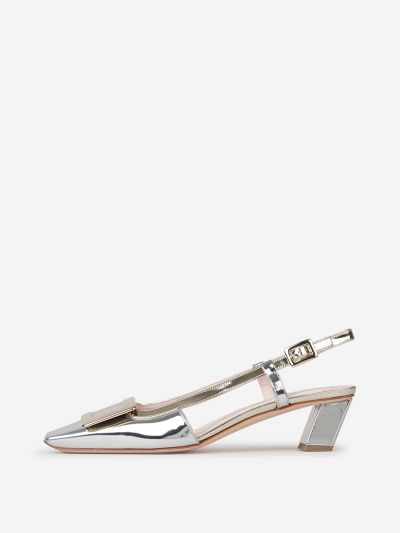 Belle Vivier sling back pumps