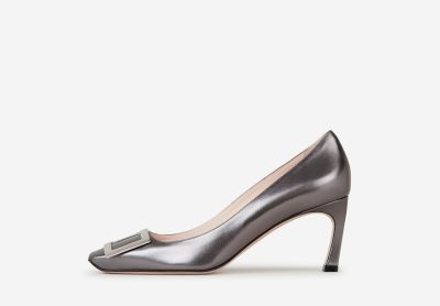 Trompette leather pumps