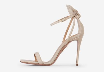 Deneuve suede leather sandals