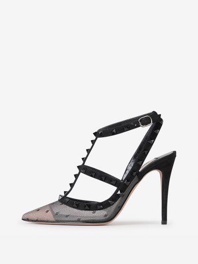 Rockstud Heeled Shoes