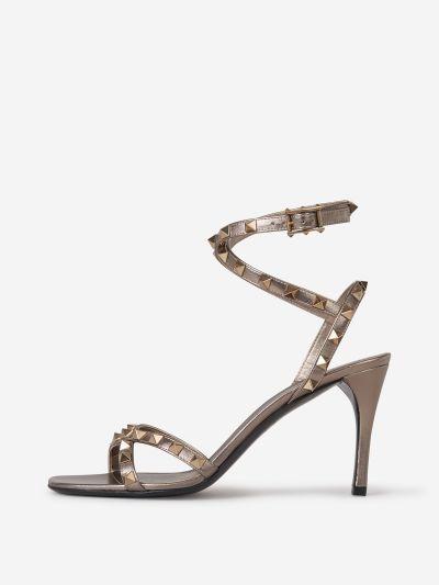 Rockstud Heeled Sandals