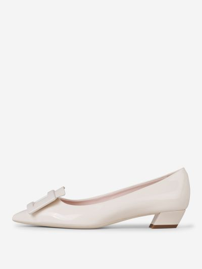 Gommettine Patent Leather Ballerinas