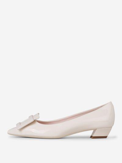 Gommettine Patent Leather Ballerinas