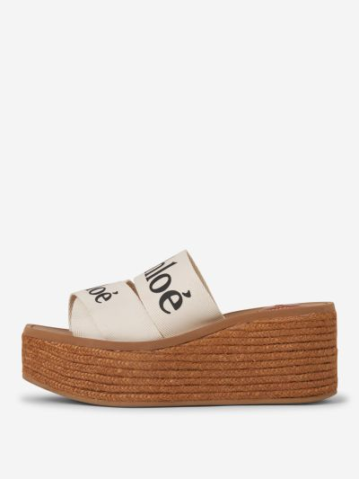Woody Wedge Sandals