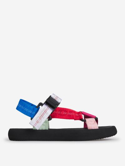 Multicolor Trek Sandals