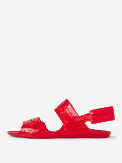 Logo Jelly Sandals