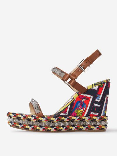 Tarot Pyraclou Wedge Sandals