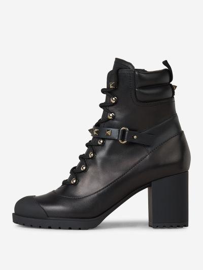 Rockstud Heel Boots