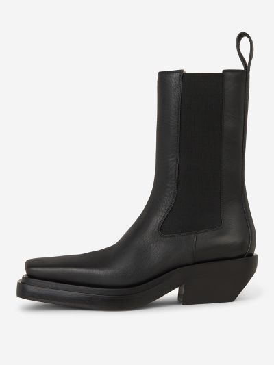 Lean Western-Style Boots