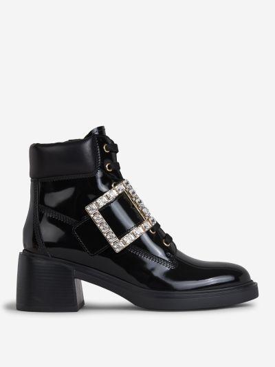 Viv' Rangers Metal Buckle Boots