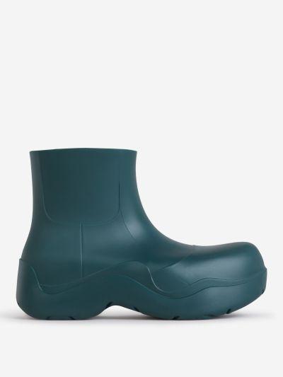 Platform Rain Boots