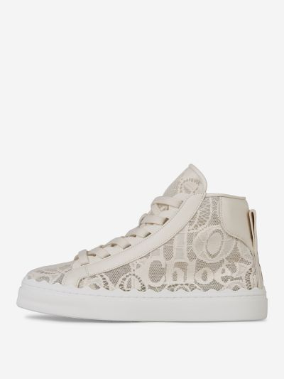 Lauren Lace High-Top Sneakers