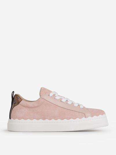 Sneakers Contraste Piel