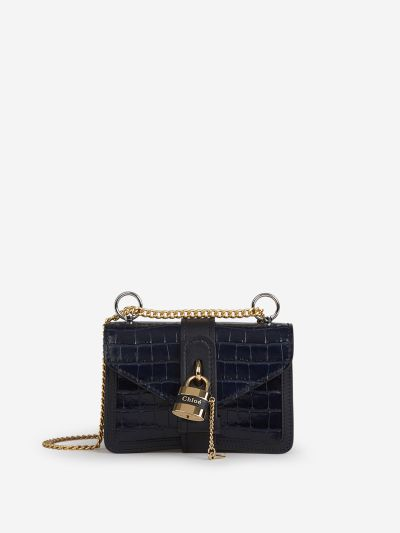 Aby Chain Croco bag