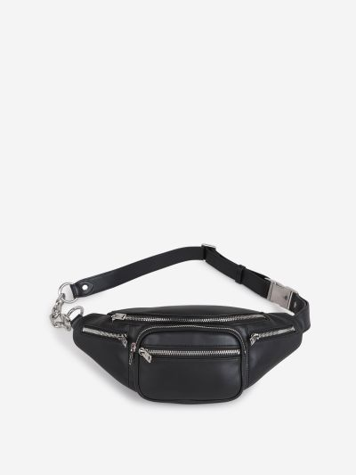 Smooth Leather Belt Bag