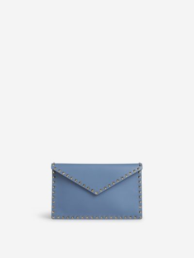 Rockstud Envelope Clutch bag