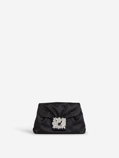 Drapé Mini Buckle Bag