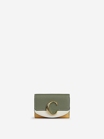 C Leather Wallet