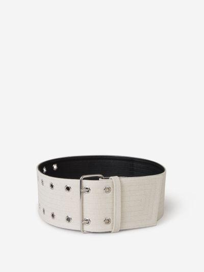 Cinturón Lona Metal