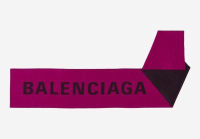 Maxi logo scarf