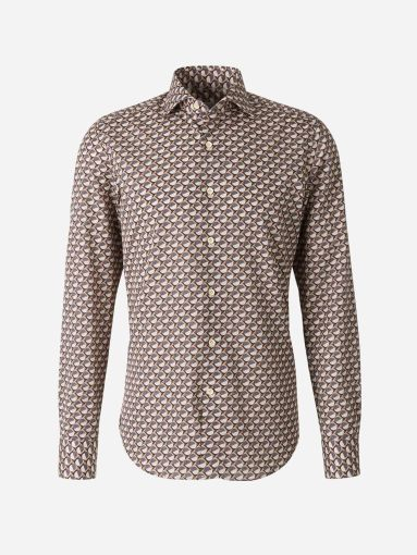 Camisa Motivo Geométrico