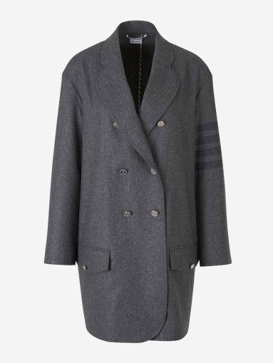 4 Stripes Sleeve Coat