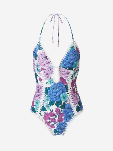 Banyador Floral Crochet