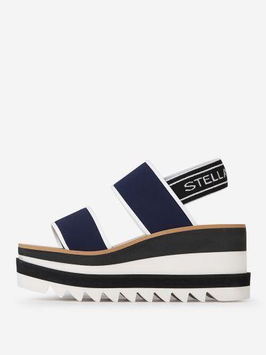 Wedge Navy Sandals