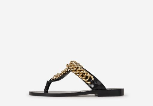 Sandàlies Pell Chain