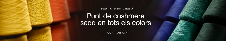 Punt de cashmere en Santa Eulalia Barcelona