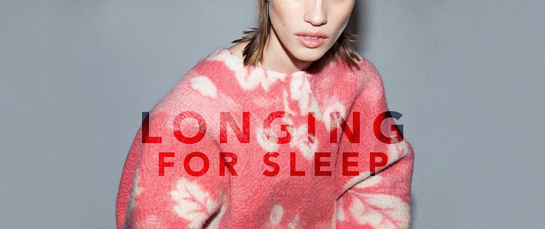 longing for sleep for women